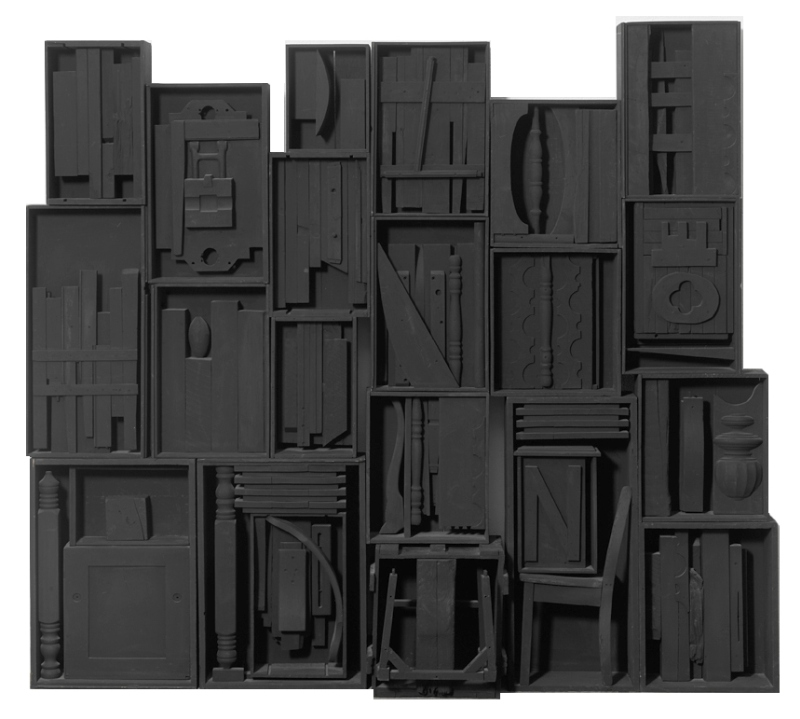 Louise Nevelson, Untitled, 1964. Courtsey of Gió Marconi