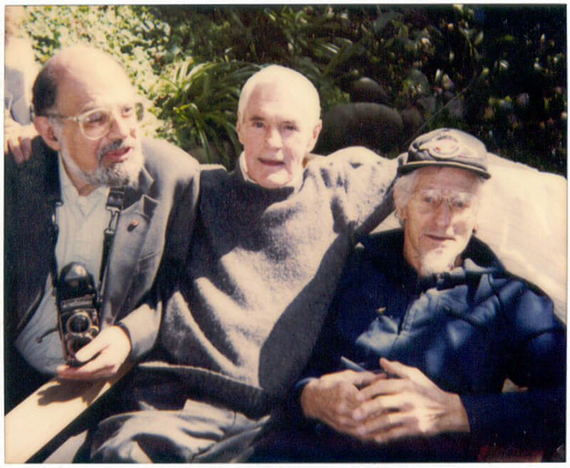 Allen Ginsberg, Timothy Leary, and John C. Lilly, M.D. Photo: Philip H. Bailey. commons.wikimedia.org/wiki/File:Ginsberg-leary-lilly.jpg (CC BY-SA 2.5)